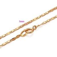 Collar de envío gratis, collar de moda de imitación, de cobre con baño de oro de 18 quilates collar, joyería Collar (China (continental))