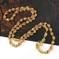 Collar de envío gratis, collar de moda de imitación, de cobre con baño de oro de 18 quilates collar, joyería Collar de cadena larga (China (continental))