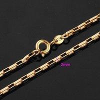 Necklacle hechos a mano, collar de moda de imitación, de cobre con baño de oro de 18 quilates collar, joyería Collar (China (continental))