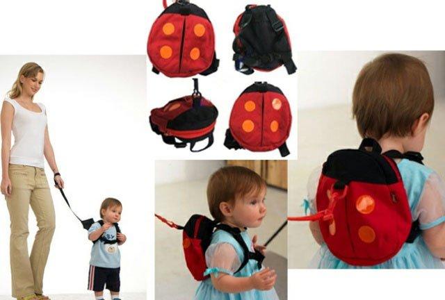 Beetle backpack infant backpack kitbag knapsack baby training belt learning walk belt strap safe ...