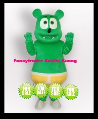 Gummy Bear Mascot Costume Free sample