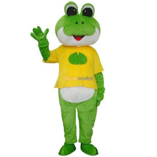 Frog Mascot Costume Free Sample