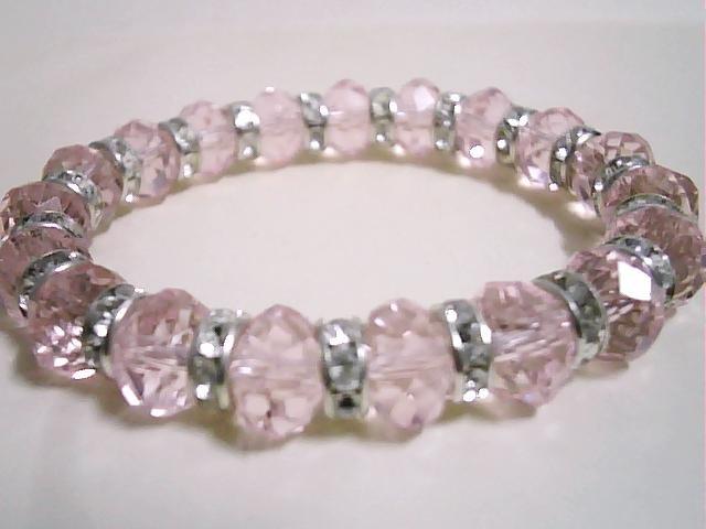 Crystal Bracelets Wholesale Wholesale Pink Crystal
