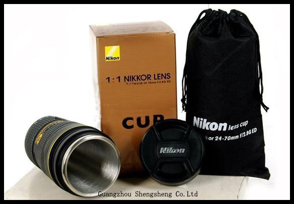 camera lens mug. Nikon lens Cup AF-S 24-70mm