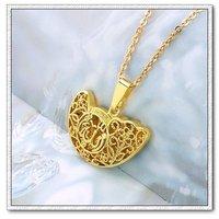Libre de collar, colgante Allah, de cobre con baño de oro 18k colgante, al por mayor y al por menor (China (continental))