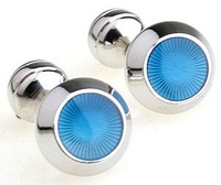 Promotion!! free shipping 3pairs/lot Engravable Cufflinks wholesale anti-oxidation copper 100%guaranteed quality+free return