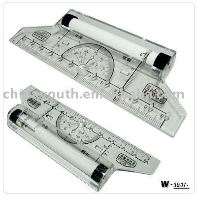Wholesale Free sample, scale ruler,Multi-purpose ruler,combination ruler set