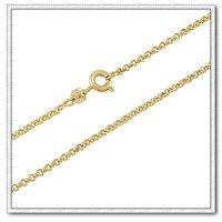 Moda collar de cadena, collar O la forma, el cobre con baño de oro de 18 quilates collar, collar de joyas, Gastos de envío gratis (China (continental))