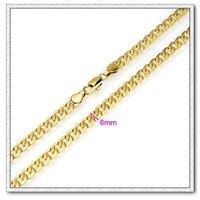Collar de moda, un collar hecho a mano, con el collar de cobre chapado en oro de 18 quilates, un collar de joyas, Gastos de envío gratis (China (continental))
