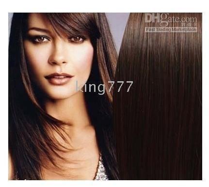 11pcs clips in human hair