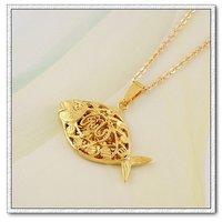Libre de collar, colgante Allah, de cobre con baño de oro 18k colgante, Gastos de envío gratis (China (continental))