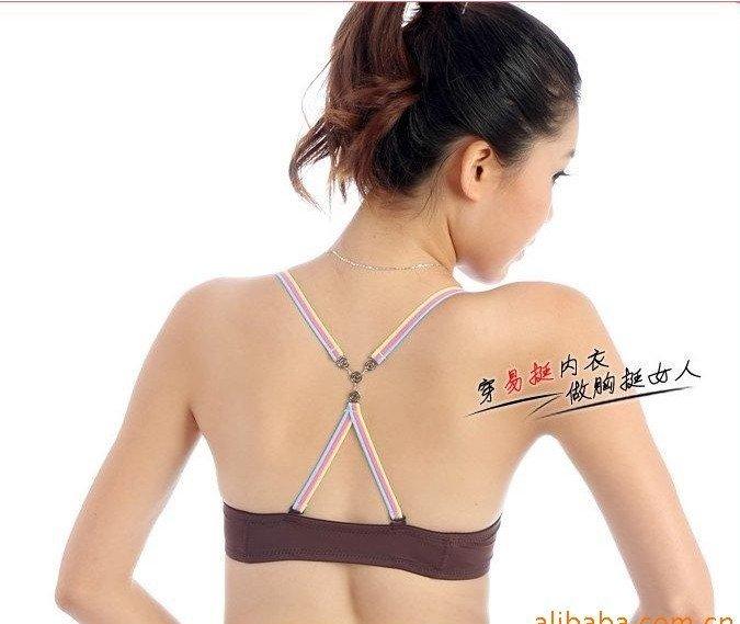 Hot sale adjustable fashion bra strap ladies sexy bra ...