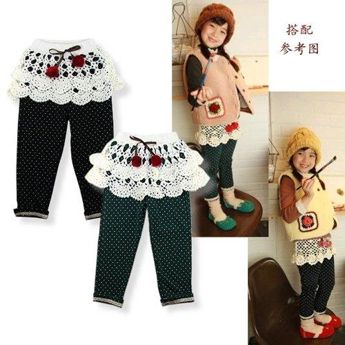 Wholesale B2w2 pantskirt girls' dress legging trousers B2W2 girls pantskirt kids trousers skirt pants  ...