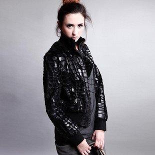 wholesale faux leather zip