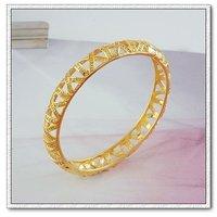 Pulsera de moda, con pulseras de cobre chapado en oro de 18 quilates, Gastos de envío gratis (China (continental))