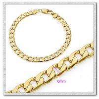 Bisutería pulsera, brazalete de cobre con baño de oro 18k, Gastos de envío gratis (China (continental))