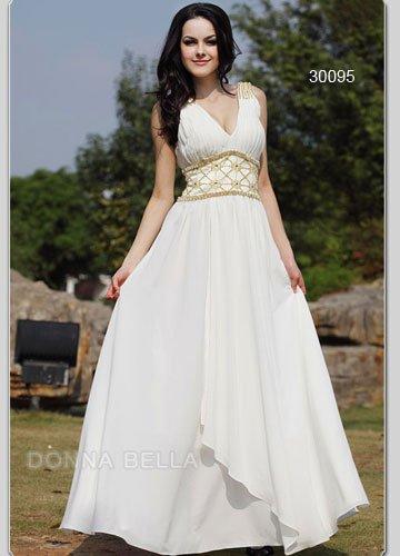 Free shipping 2010 the top fashion style greek goddess for Greek goddess wedding dresses