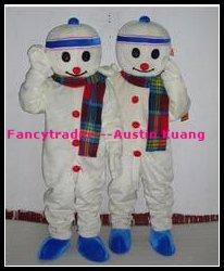 Wholesale Snowman Mascot Costume Advertising Costume Halloween Costume Christmas Costume Free Sh ...