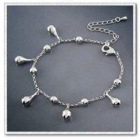 Encanto de la moda joyas pulsera, brazalete de cobre chapado en platino con Link, y pulsera de cadena, envío gratis (China (continental))