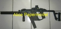 [Alice papermodel] 1:1 Russia PP2000 submachine gun Assault Rifle automatic rifles weapon toygun models