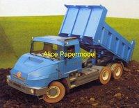 Игрушечная техника и Автомобили papermodel] 28 1:32 /131