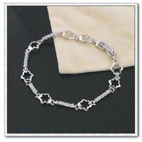 CZ brazalete, pulsera del encanto, de cobre con brazalete platinado, joyas pulsera de moda, Gastos de envío gratis (China (continental))