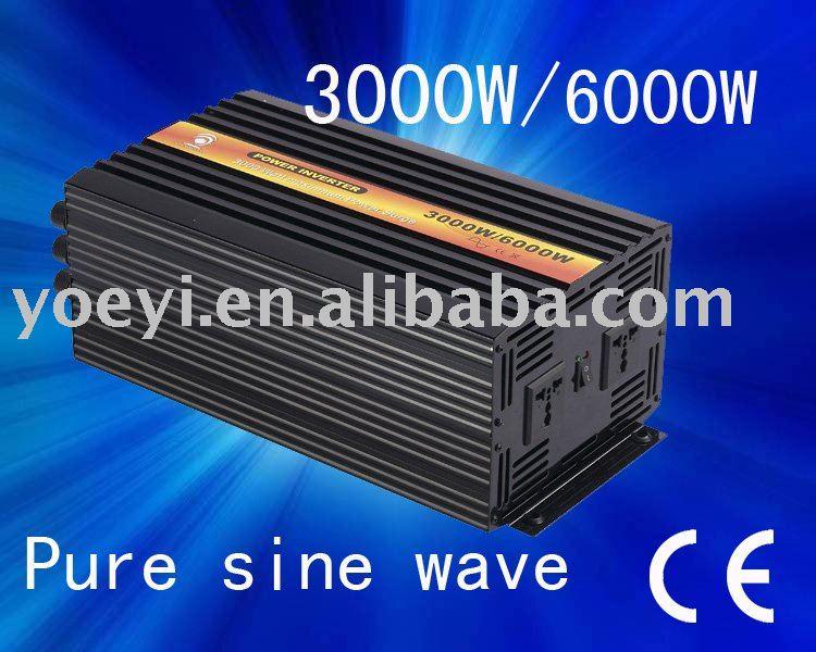 12V DC to 230V AC 3000W Pure Sine Wave Power Inverter - China Inverter ...