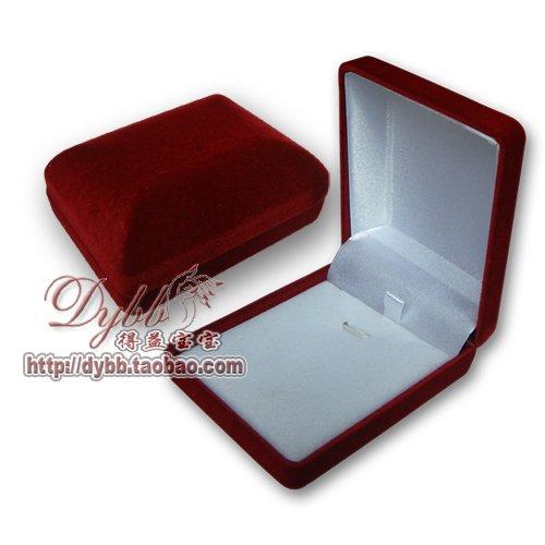 velvet necklace gift box 2