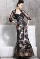E3554 Mermaid high quality Lace evening dresses+Jacket custom-made free shipping