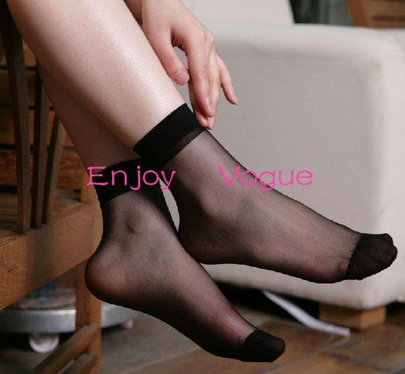 Girls Black Socks