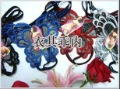 free shipping wholesale 120pc/lot women lady butterflt shape sexy underwear , crotchless thong panty