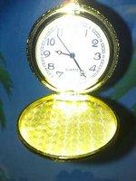 bolsillo de moda adorno reloj de oro, reloj digital, joyas dama (China (continental))