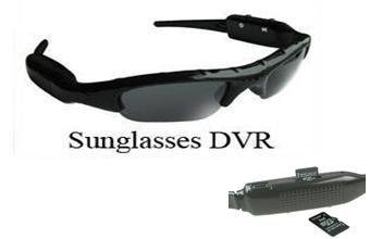 Wholesale free shipping: 1 pcs DVR68C  4GB   3GP Format camera Sunglasses DVR DVR68C (Camera+ viedo) Built ...