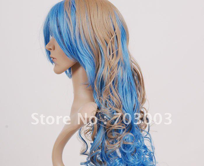 Long Blue Hair Cosplay 25