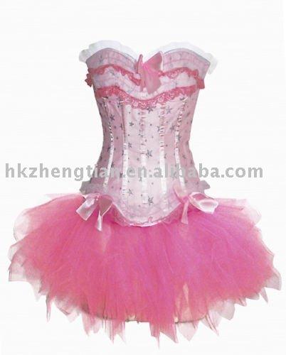 صور فساتين رووووووووووووووووعة  2010-new-pink-sexy-woman-corset-with-tutu-dress
