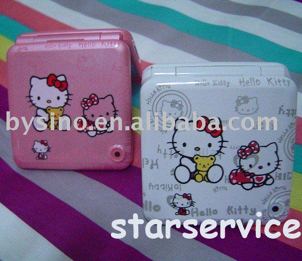 Wholesale Hello Kitty M10 TV Quad Band Dual Sim JAVA Camera unlocked