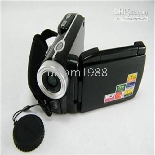 New 12.0MP 8X Digital Zoom Solar Power DV Digital Video Camera