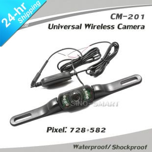 Wired Car Rearview Camera Parking camera Shock proof Night vision Waterproof Rear View camera connect to DVD/Monitor