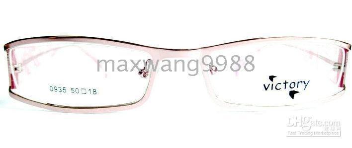 2010 new style Best sellers Fashion Eyeglasses Lens Frames Myopia Reading Unisex 's Metal Fa ...