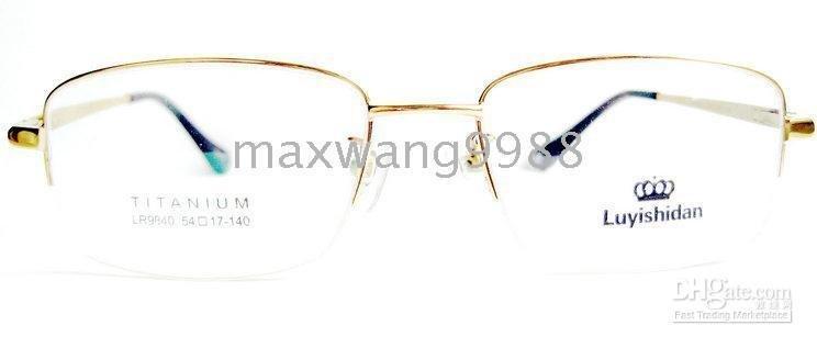 Prescription Rx Optical Best sellers Eyeglasses Lens Frames Reading Unisex 's Titanium Fashi ...