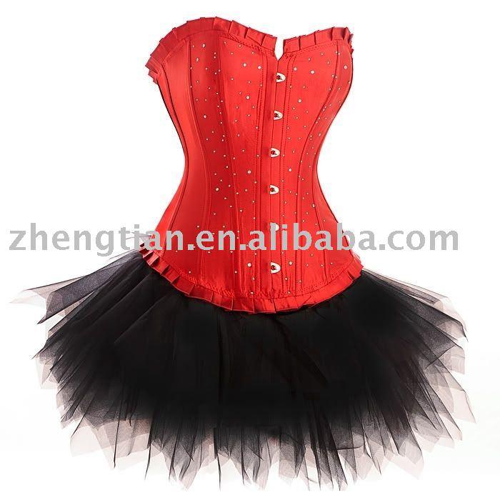 Платье Корсет С Пышной Юбкой