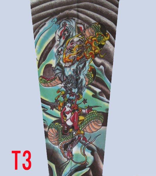 100pcs tattoo supply 92 nylon 8 spandex Most fashion and novelty