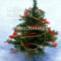 90CM Mini christmas tree on Desk free gift holiday lamp,color ribbon etc as photos present