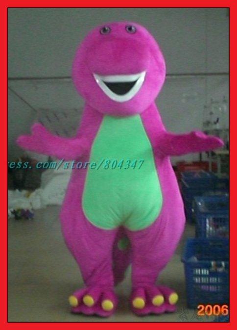 NEW Mascot Costume Barney Adult Cartoon Fancy sexy Halloween Dress fur costume Shakira sex tape Video: