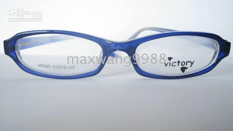 Eyeglasses Lens Frames Myopia Reading Unisex 's Plastic Fashion Blue 2010 new Best sellers G ...