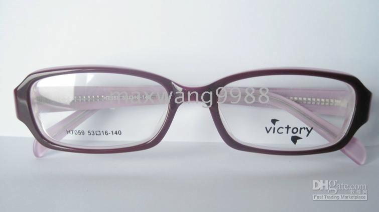 2010 new Best sellers Eyeglasses Lens Frames Myopia Reading Unisex 's Plastic Fashion Wine GS2-6