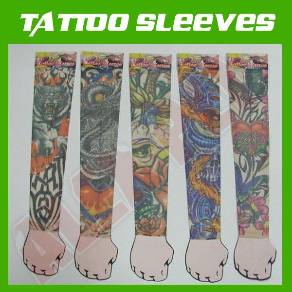 Buy TATTOO SLEEVES, novelty sleeves, tattoo arm, Free shipping! tattoo