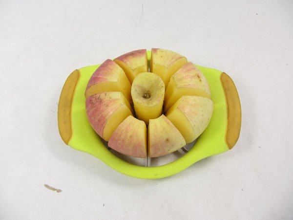 Apple slicer corer - Calphalon easy grip apple slicer ...
