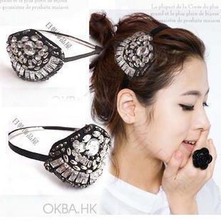 fashion hair accessories Rose flower hair band head 100 Pcs/Lot