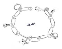 wholesale  silver plated Man China Dragon bracelet.silver cool bracelet for Men.Free shipping! TOP quality.